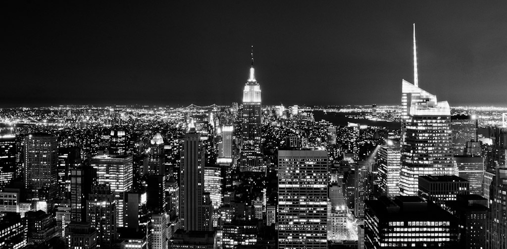 New_York_Skyline_Monochrome
